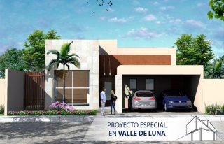 Fachada de Proyecto Especial en Valle de Luna Tu Casa a Tu Medida