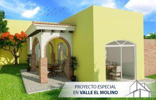 Fachada de Proyecto Especial en Valle El Molino Tu Casa a Tu Medida