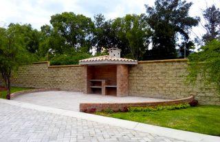 Área de asador en Valle el Molino Residencial