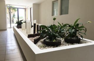 Jardinera interior de departamentos en Valle de Luz 2